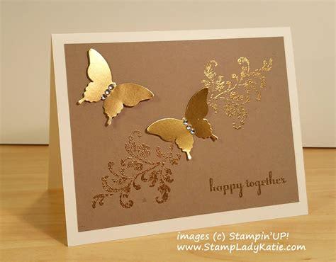 gold foil butterflies   golden anniversary