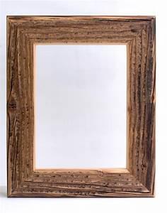 Cadre Bois 50x70 : cadre en vieux bois artisan du cadre ~ Teatrodelosmanantiales.com Idées de Décoration