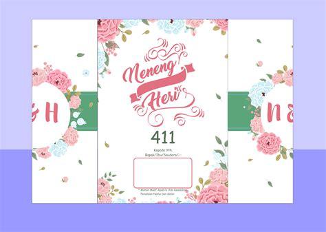template undangan pernikahan cdr gratis guru corel