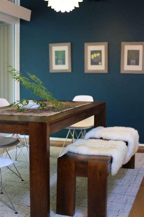 les tapis de cuisine déco bleu canard une couleur tendance et inspirante à