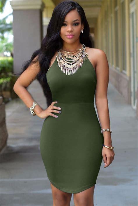 moda mini vestido verde militar straps en espalda 22722 420 00 en mercado libre