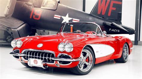 1959 Chevrolet Corvette C1 Hd Desktop Wallpaper