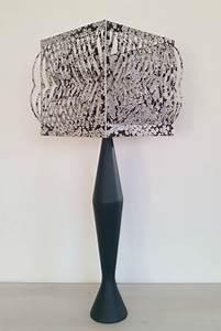 Abat Jour Design : abat jour carr design personnaliser sophie fourmaux ~ Melissatoandfro.com Idées de Décoration