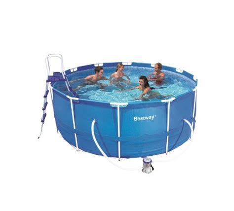 bestway pool abbauen bestway pool stahlrahmen steel pro frame pool set test
