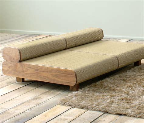 japanese eco friendly sofa and ottoman agura by sajica