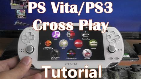 Ps Vita And Ps3 Cross Play How To Transfer Games Youtube
