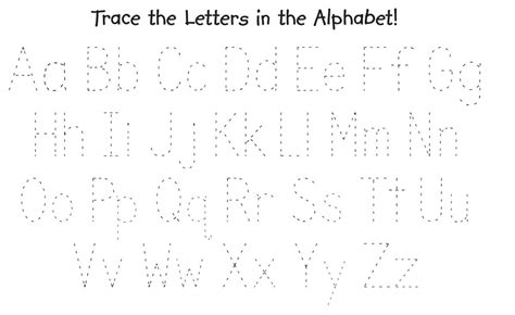 printable letters to trace printable letters to trace kiddo shelter 27913