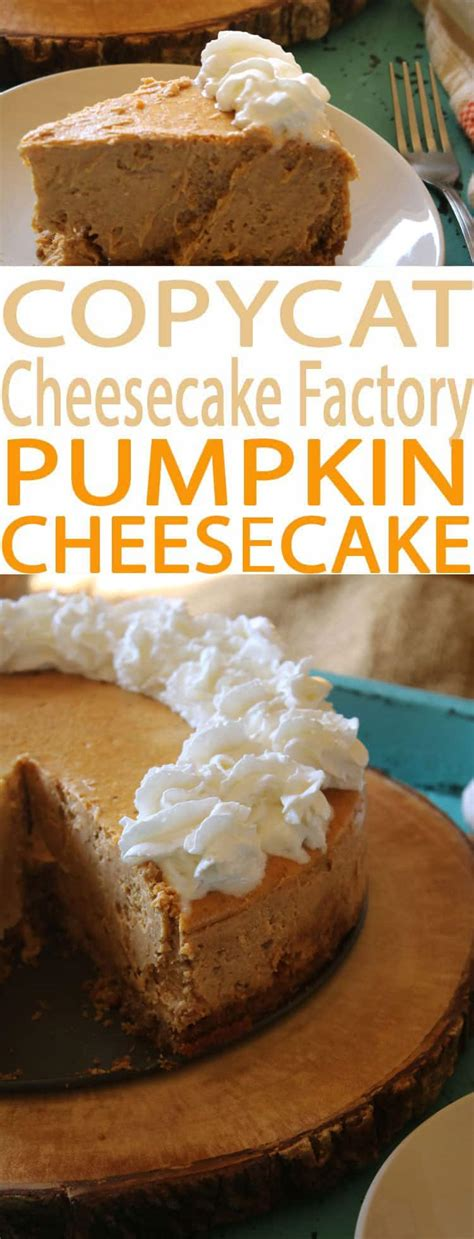 Purchase gift cards for canada canada gift cards are redeemable at the cheesecake factory restaurant at yorkdale shopping centre in north york, on. Pumpkin Cheesecake - A Cheesecake Factory Menu Favorite