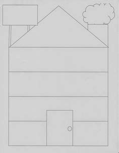 template  draw  house activity therapy counseling therapy activities