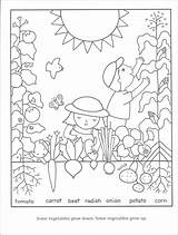 Coloring Pages Gardening Garden Vegetables Flower Vegetable Printable Preschool Print Sheets Gardens Seeds Children Adult Bestcoloringpagesforkids Tools Rainbow Spring Childrens sketch template