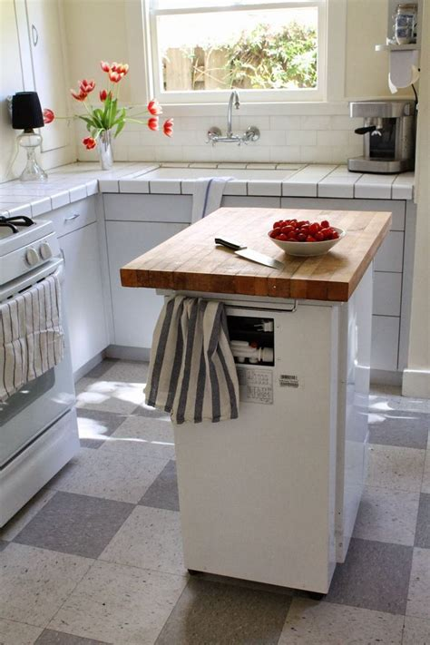 portable dishwasher butcher block island for the home