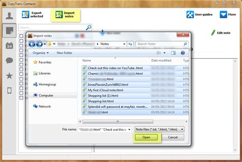 how to save notes from iphone iphone contacts copy icloud notes to pc