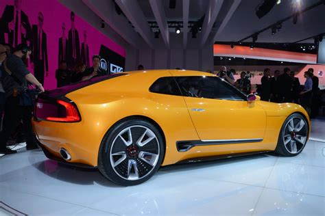 """Kia Gt4 Stinger Concept Shows Its """"totally Selfish Design"""