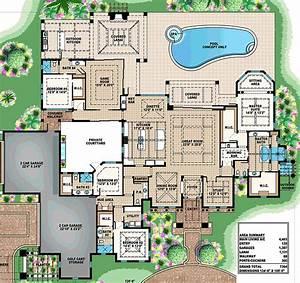 Luxury, Estate, Floor, Plan, By, Abg