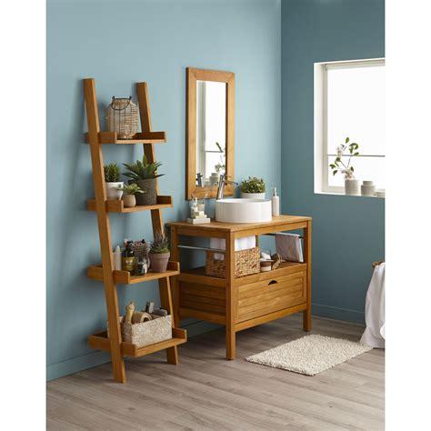meuble de rangement pour la cuisine meuble de salle de bains de 80 à 99 brun marron
