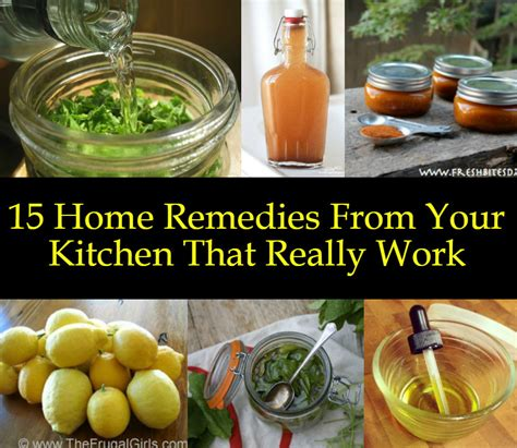 Life On Maple Grove  15 Home Remedies From Your Kitchen