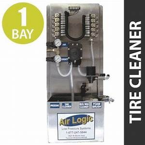 Air Logic Low Pressure Panel For Tire Cleaner In A Single