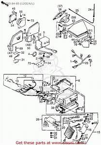 Honda Gl1200a Goldwing Aspencade 1984  E  Usa California