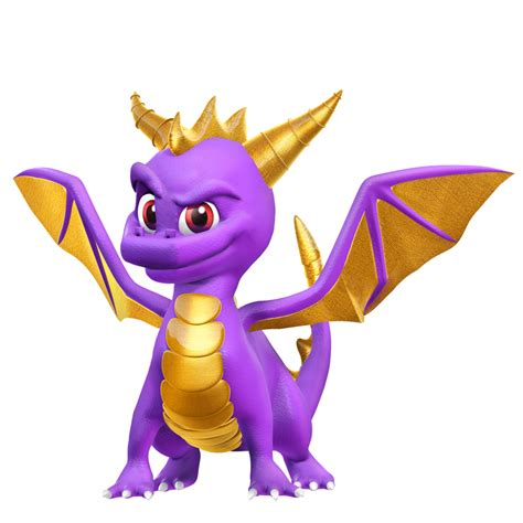 Spyro The Dragon Render By Nibroc Rock On Deviantart
