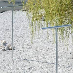 Poteau Fil à Linge : jardin tendoir linge poteau a sceller ~ Dailycaller-alerts.com Idées de Décoration