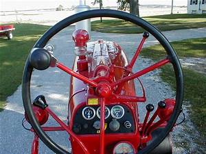 Restored Farmall 400 Tractor With Factor Power Steering