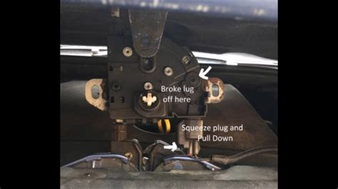 easy fix  ford focus bonnet catch youtube