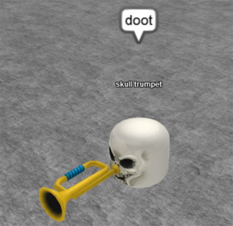 Doot Doot Meme - doot skull trumpet know your meme