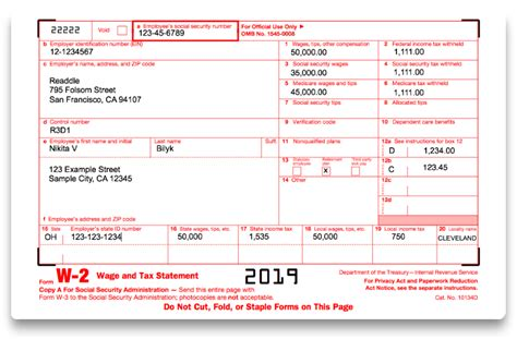 how to fill out irs form w 2 2018 2019 pdf expert