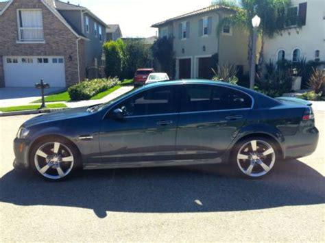 sell used 2009 psm pontiac g8 gt 48k miles custom