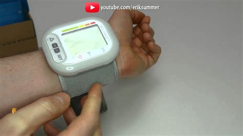 Digital Blood Pressure Monitor Portable Wrist Cuff - How
