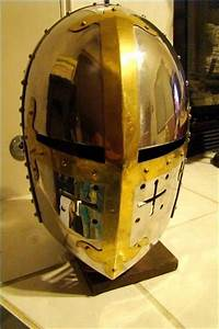 Crusader Helmet or Great Helm was created early in the ...