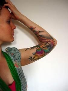 Tatouage Avant Bras Femme : tatouage phoenix femme signification emplacements et ~ Melissatoandfro.com Idées de Décoration