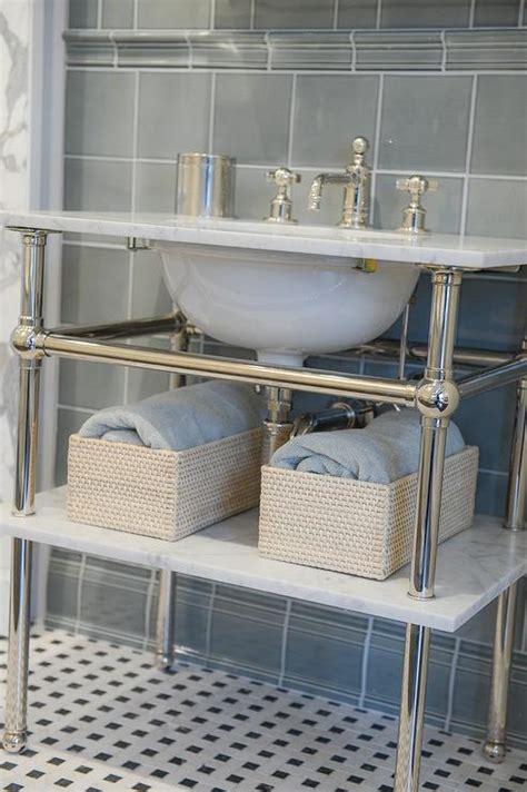 waterworks bathroom vanities marble top washstand transitional bathroom