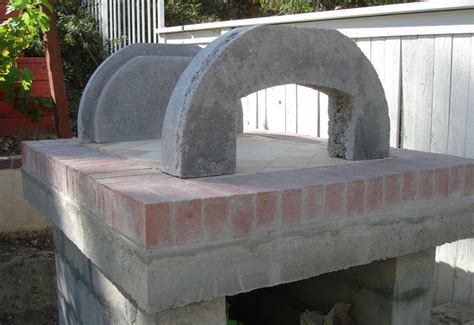 modern pizza oven the szafarski family wood fired brick pizza oven in california modern los angeles by