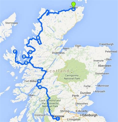A new plan for a ride in the west coast of Scotland » The Journey of Dreams » The Nomadic Life
