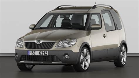 Skoda Roomster Review  Top Gear
