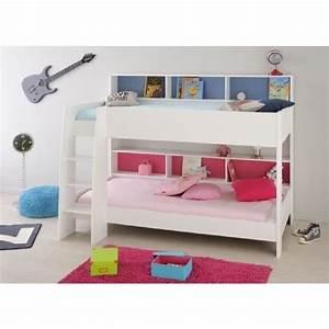 lit superpose mezzanine achat vente lit superpose With canapé lit superposé pas cher