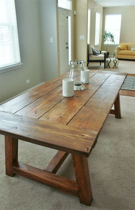 Homemade Rustic Tables  Best House Interior Today