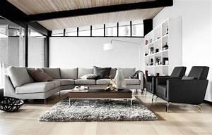 canape d39angle en tissu gris indivi 2 boconcept With tapis de marche avec canapé bo concept