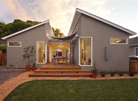 klopf architecture modern ranch house addition remodel modern exterior san francisco