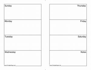 printable weekly calendar sunday saturday With sunday through saturday calendar template