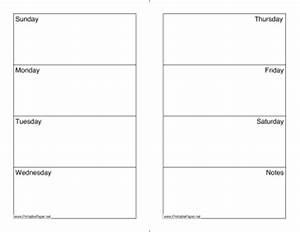 Printable weekly calendar sunday saturday for Saturday to friday calendar template