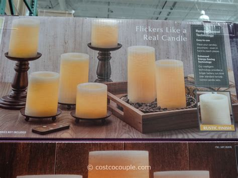 Costo Candele by 7 Flameless Led Candles