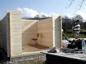 Lame Bois Pour Construction Chalet : montage chalet en planche crois e 0001 youtube ~ Melissatoandfro.com Idées de Décoration