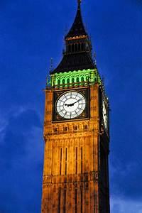 Big Ben Clock Tower at Night - London England | Big Ben ...