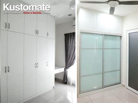 White Cabinets Design, Build & Installation For Semi D