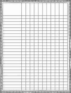 blank spreadsheet to print spreadsheets With empty spreadsheet templates
