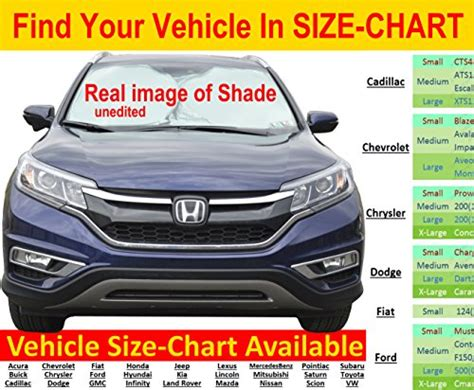 windshield sun shade hassle  size chart excellent uv reflector keeping  cooler