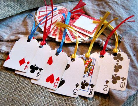 playing card diy ideas    impress