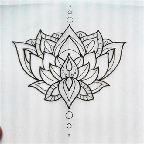 lotus flower designs 33 lotus stencils designs